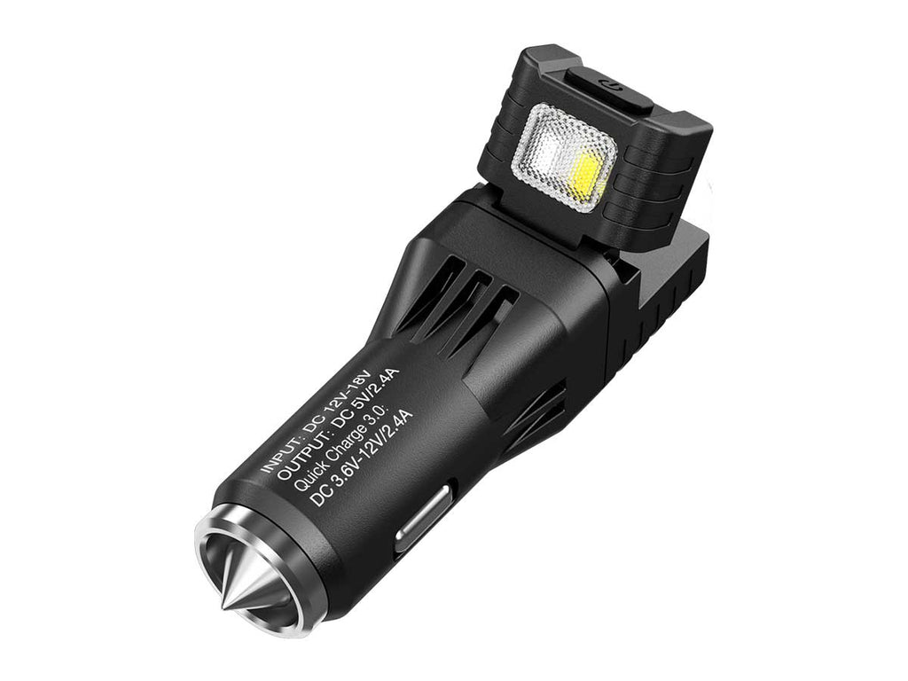 Nitecore - VCL10 Multifunctional Quickcharge 3.0 All-in-One Vehicle Gadget
