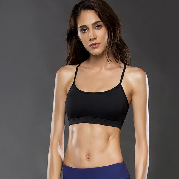 f8625cc536 ... high LOA Black Racerback Sports Bra - S BLACK