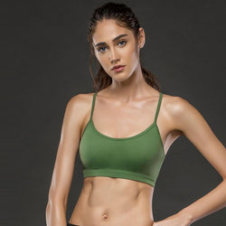 f91122981a LOA Green Racerback Sports Bra -