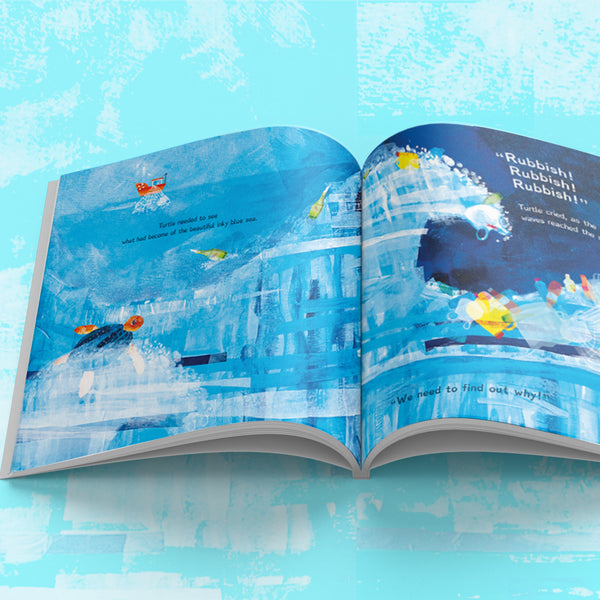 Limited Edition - Messages from the Sea - Children's Picture Book