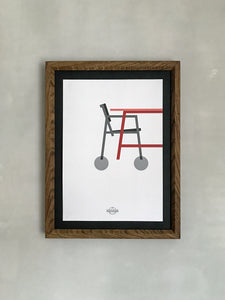 Hand-made oak frame