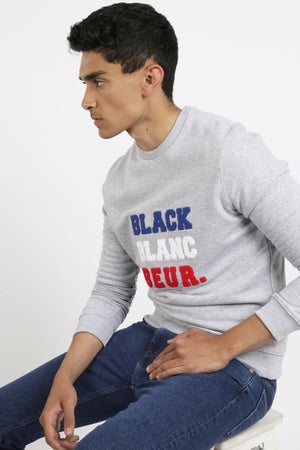 SWEAT BLACK BLANC BEUR