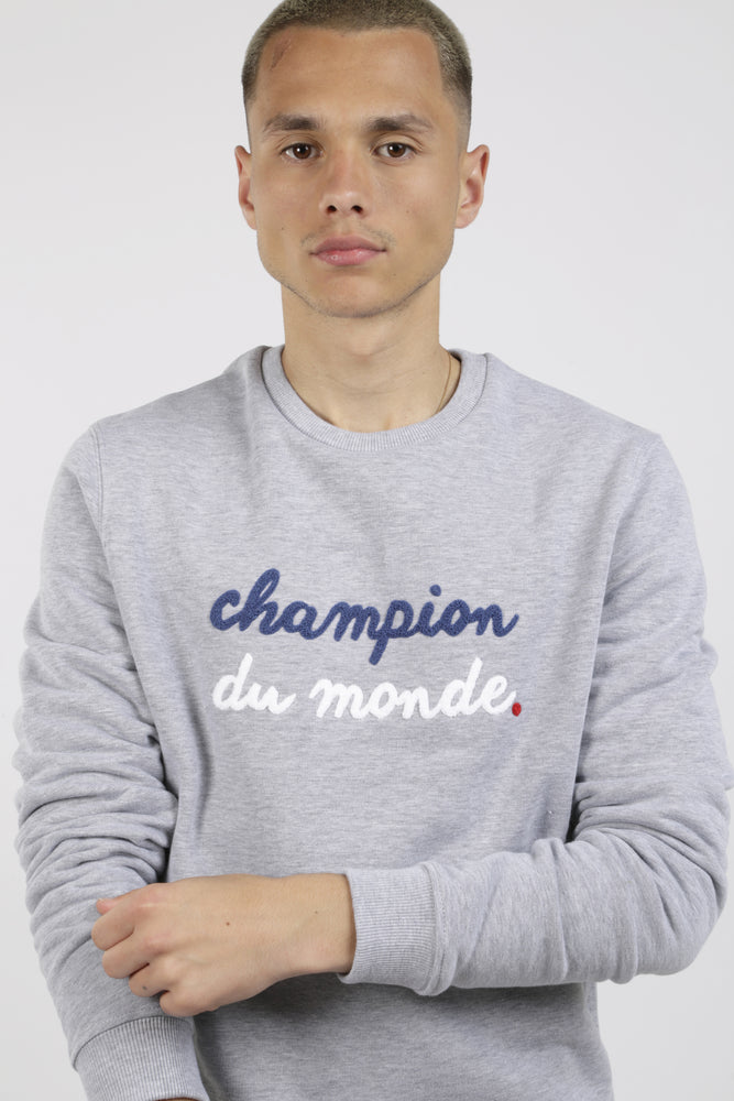 SWEAT CHAMPION DU MONDE