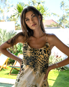 Marlo Slip dress Tiger