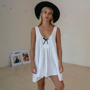 Freya Dress White