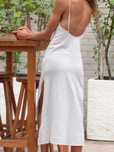 Load image into Gallery viewer, Willow Slip Dress Natural Linen