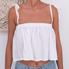 Load image into Gallery viewer, Paloma Top - White