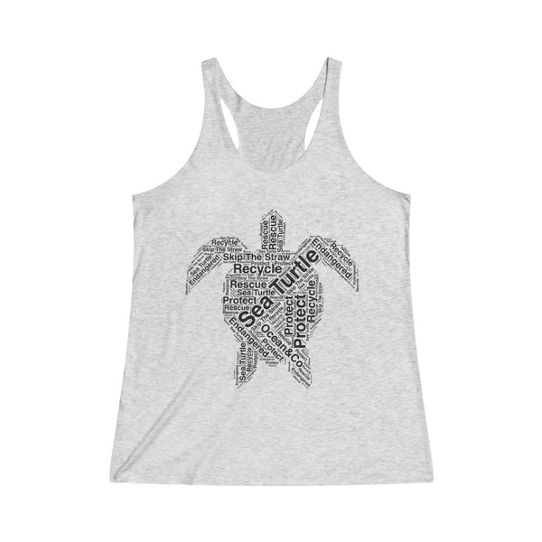 Sea Turtle Women's Racerback Tank