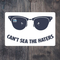 Sticker - Can't See The Haters