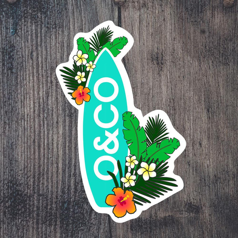 Sticker - Surf Board