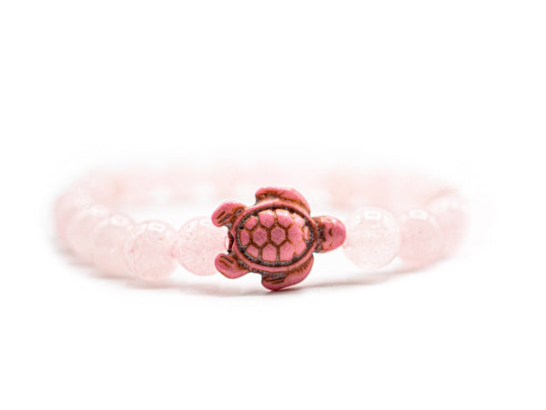 LIMITED EDITION - Pink Sea Turtle Bracelet - Ocean & Co
