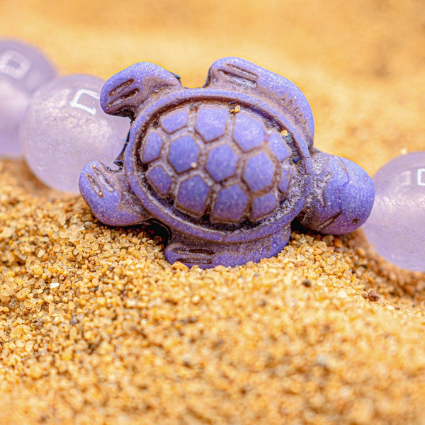 Limited Edition - Purple Sea Turtle Bracelet - Ocean & Co