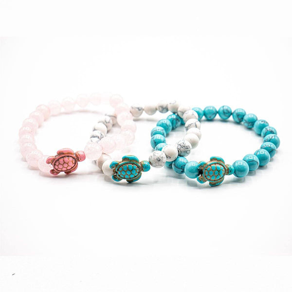 Sea Turtle Bracelets - 3 Bracelet Combo Stack - Ocean & Co