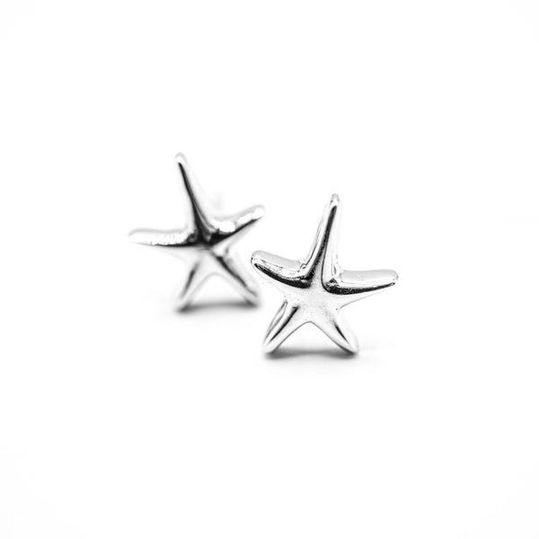 Sterling Silver Starfish Earrings - Ocean & Co