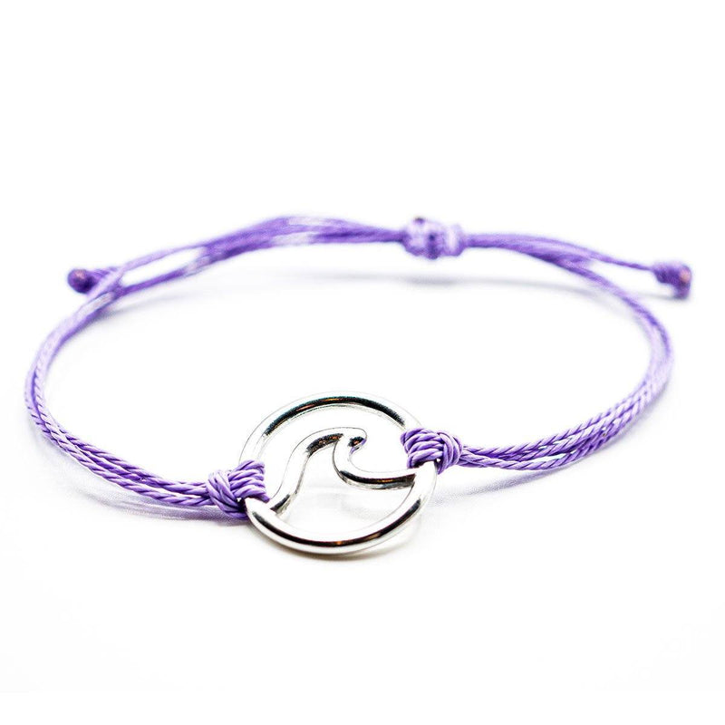 Victoria Line - Purple Bracelet Stack - Ocean & Co