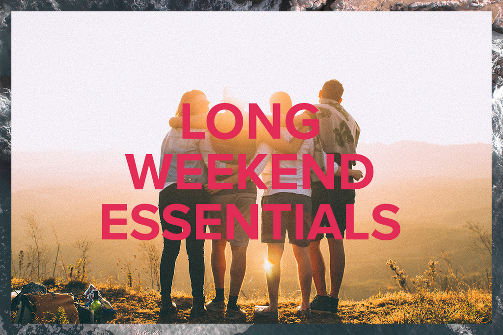 Long Weekend Essentials: CBD Products for the Long Weekend