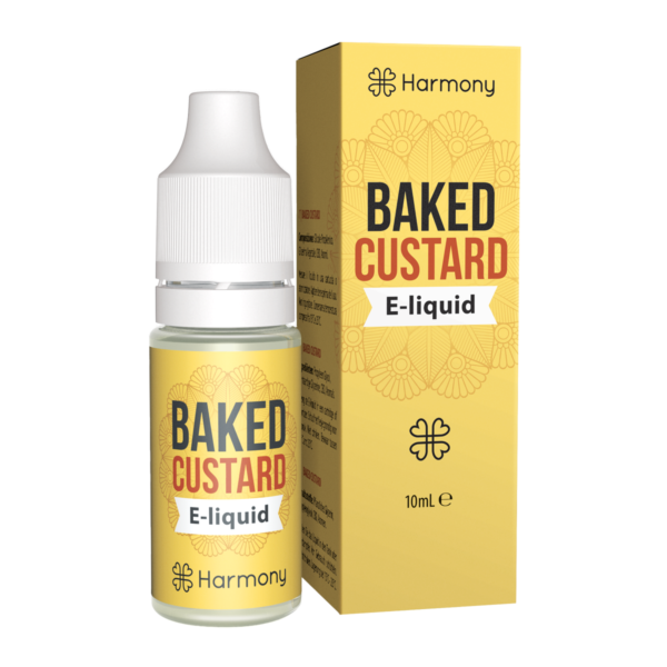 Harmony Baked Custard E-Liquid | 10ml Farm CBD