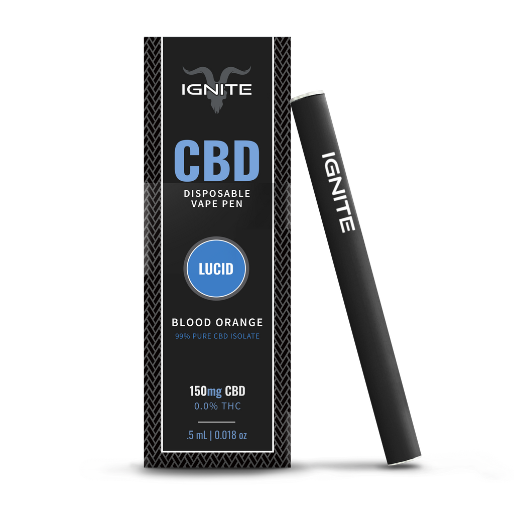 Disposable Vape Pen 150mg CBD | 0.5ml