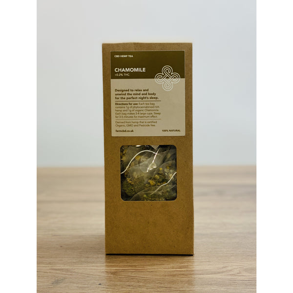 Chamomile & Hemp Tea | 15pcs Farm CBD