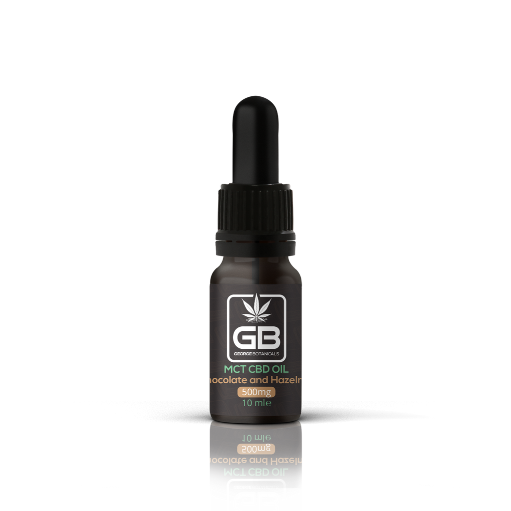 Chocolate & Hazelnut CBD Oil 500mg - 5% | 10ml Farm CBD