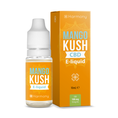 Harmony Mango Kush E-Liquid 100mg CBD | 10ml Farm CBD