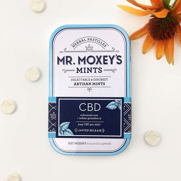 Mr Moxeys Artisan Mints 300mg CBD | 60pcs Farm CBD