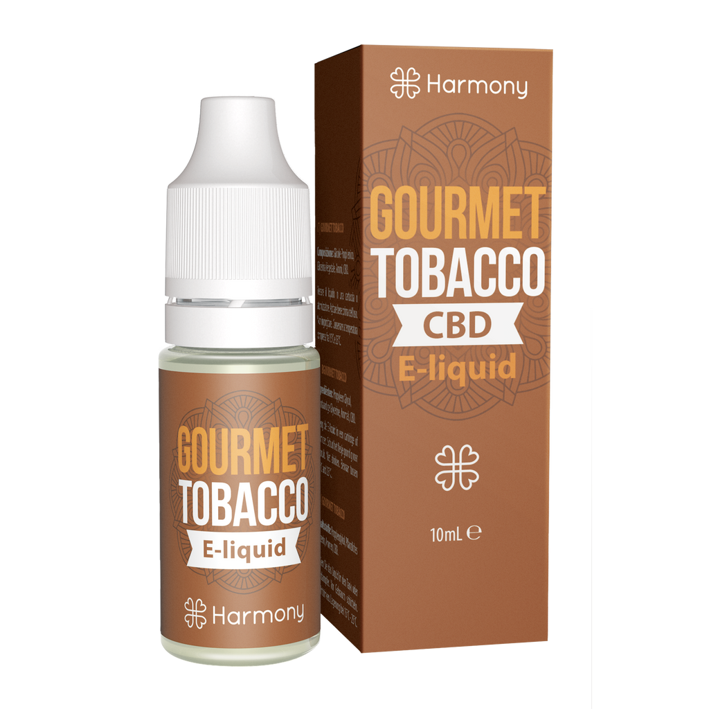 Harmony Gourmet Tobacco E-Liquid 300mg CBD | 10ml Farm CBD