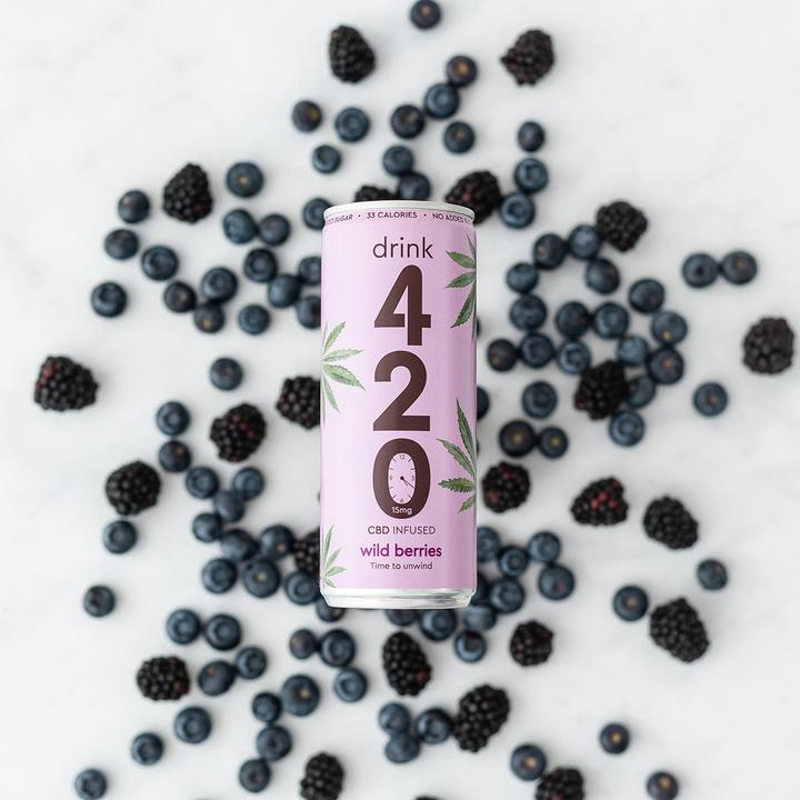 Wild Berries CBD Drink