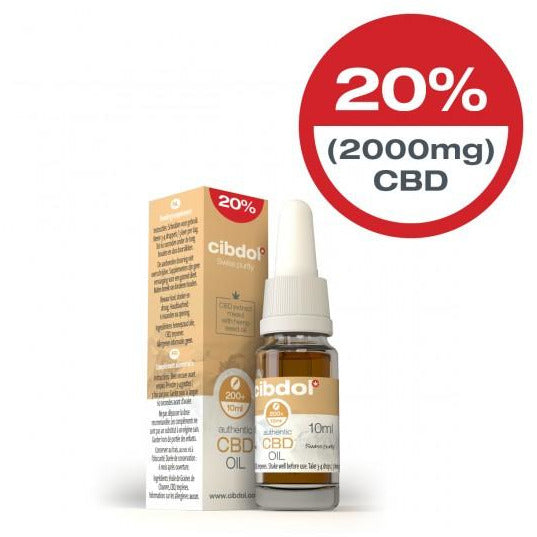 Cibdol CBD Hemp Seed Oil 10ml 2000mg