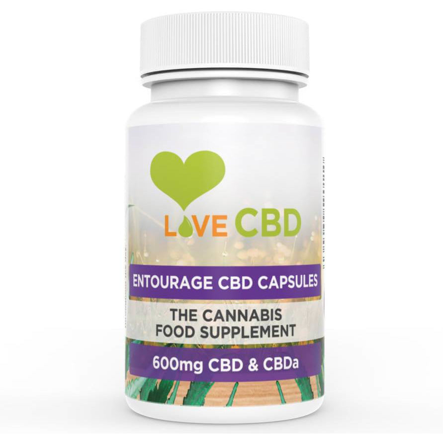 Love CBD Entourage Capsules