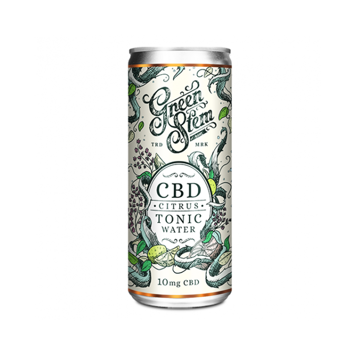 Green Stem CBD Tonic Water (10mg)
