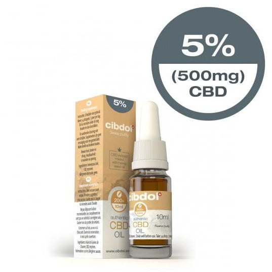 Cibdol CBD Hemp Seed Oil 10ml 500mg