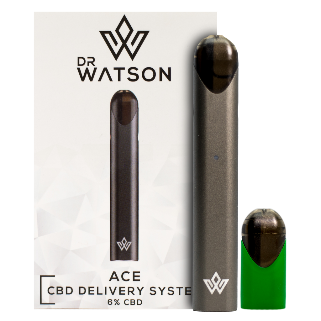 Dr Watson ACE CBD Delivery System Grey 120mg CBD - 6% Farm CBD