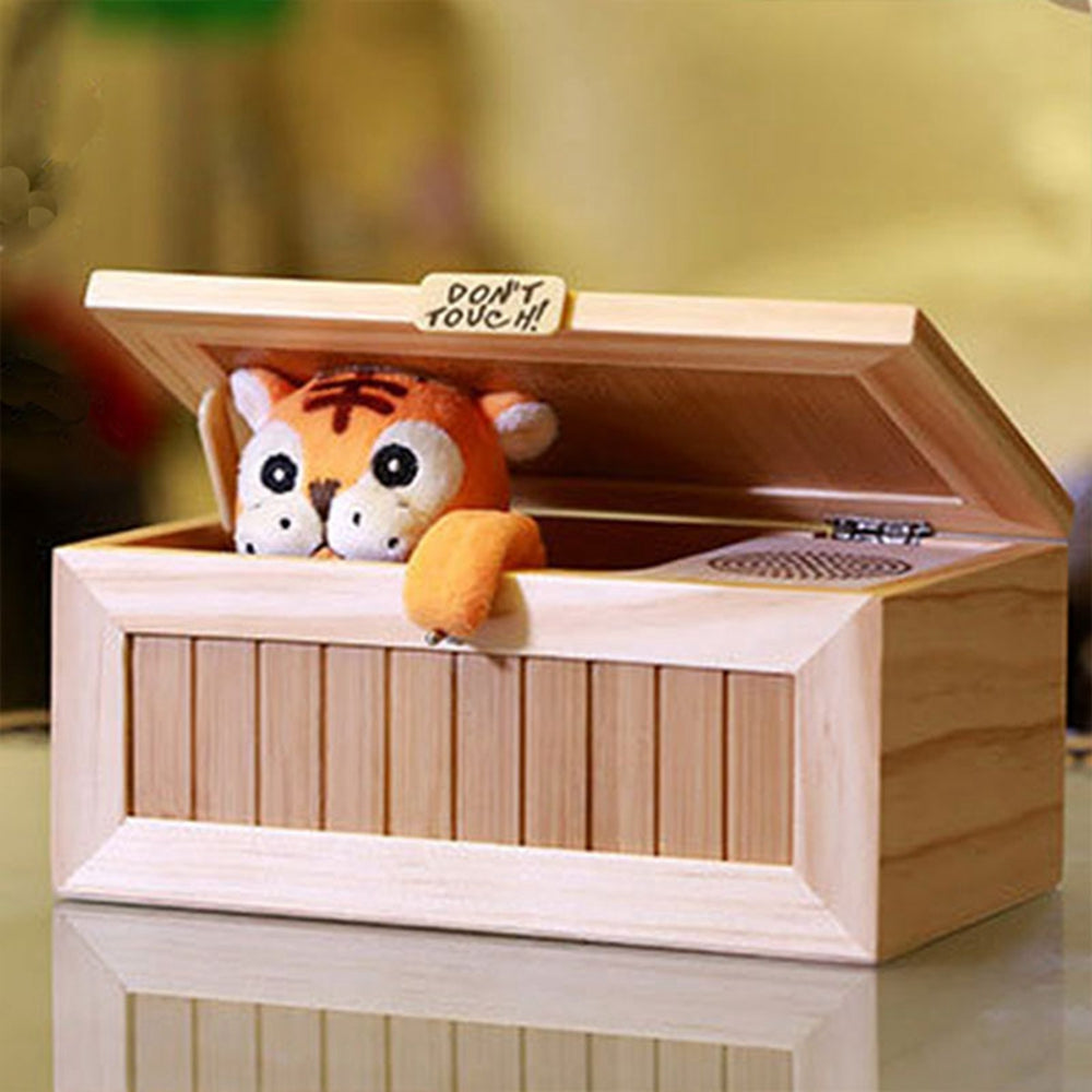 Funny and Cute Tiger Box