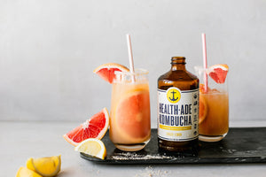 Ginger Lemon Paloma Mocktail