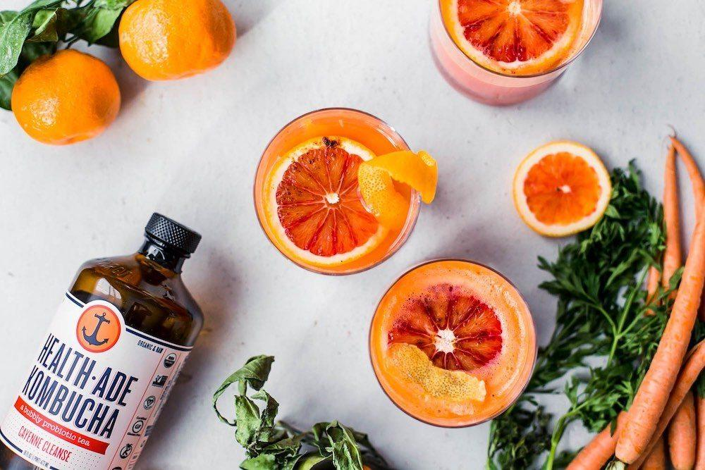 A Kombucha Mocktail to Kick Off the New Year Right