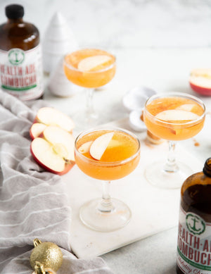 Sweet and Spicy Holiday Cheers Hard Cinnamon Cider