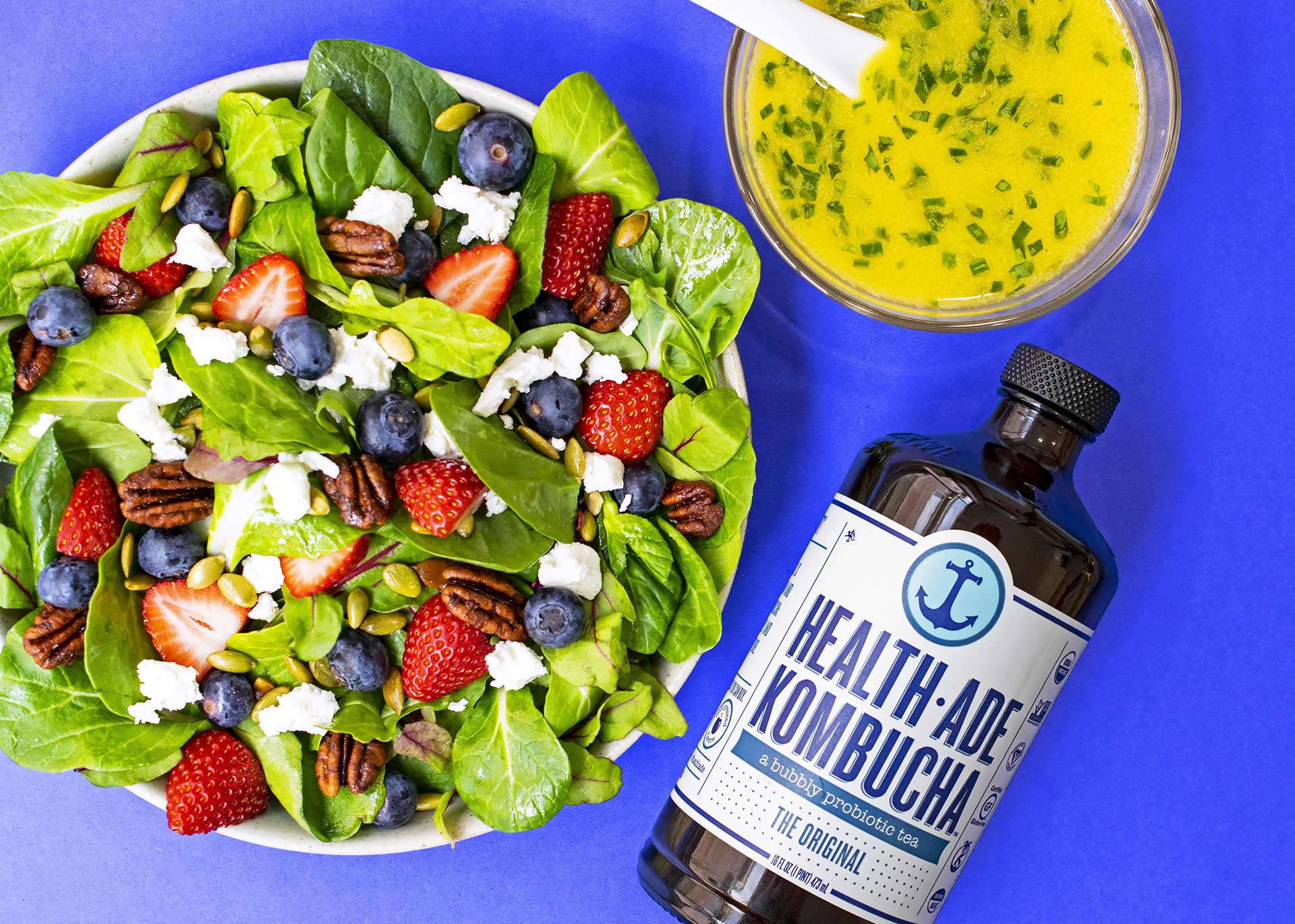 Make This Vinaigrette to Dress Up Your Spring Salads