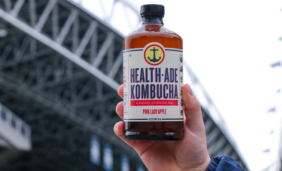 Health-Ade Kombucha Launches Partnership with Seattle Seahawks, Joins Beverage Line-Up at CenturyLink Field