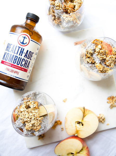Health-Ade Kombucha Pink Lady Apple Pudding