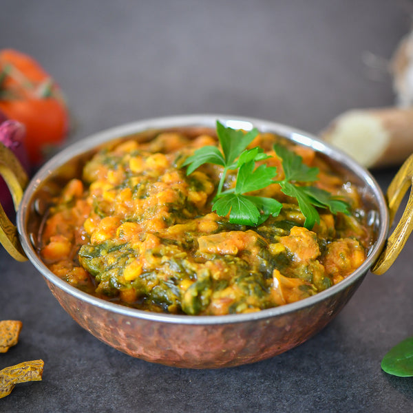 Spinach Tadka Dal