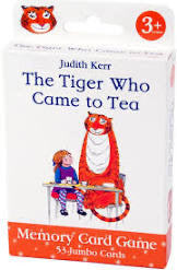 The Tiger Who Came to Tea Memory Card Game