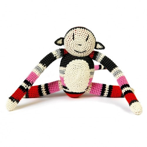 Handmade Crochet Monkey by Anne-Claire Petit