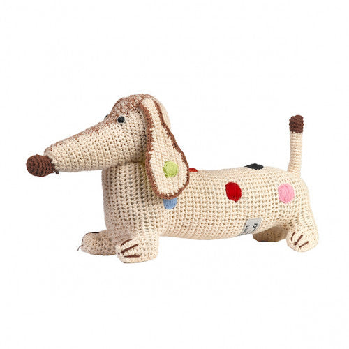 Anne Claire Petit Daschund Organic Cotton Spotty
