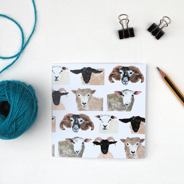 The Flock Greetings Card