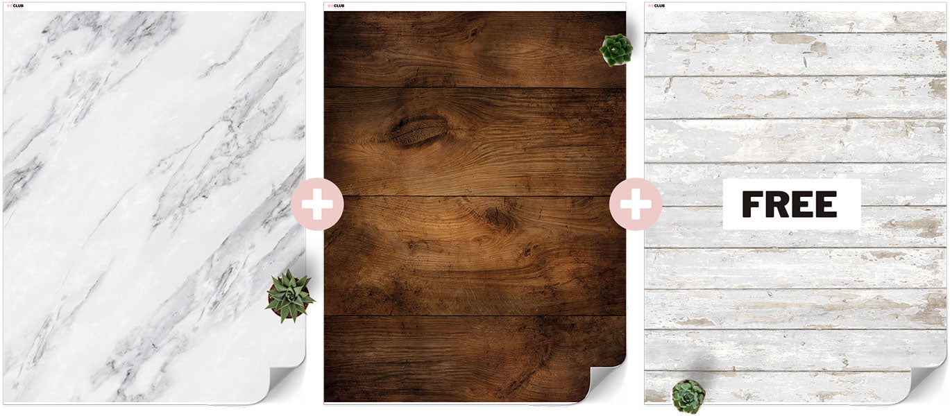 3 for 2 Large Vinyl Backdrop Bundle