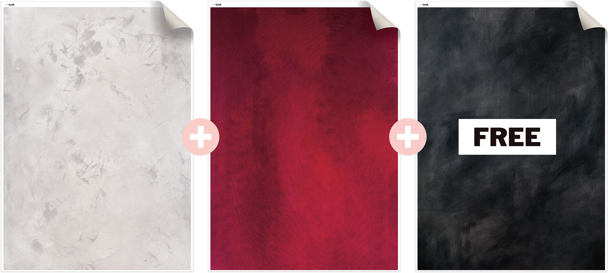 3 for 2 Canvas Backdrop Bundle