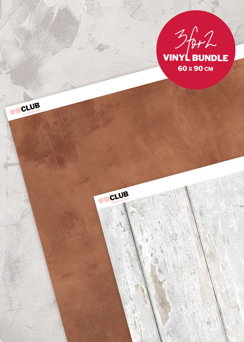 Vinyl Photography Backdrop Bundle by Club Backdrops