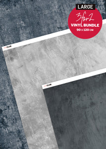Large Vinyl Photography Backdrop Bundle by Club Backdrops