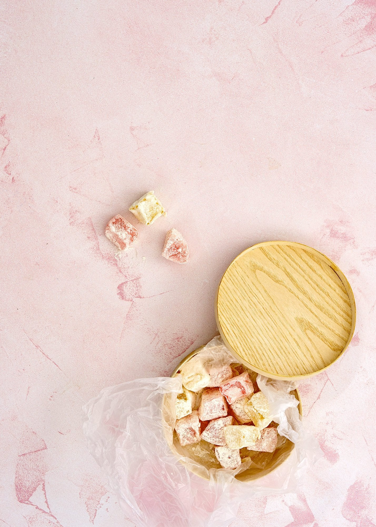 Cirrus Blush Vinyl Photography Backdrop by Club Backdrops